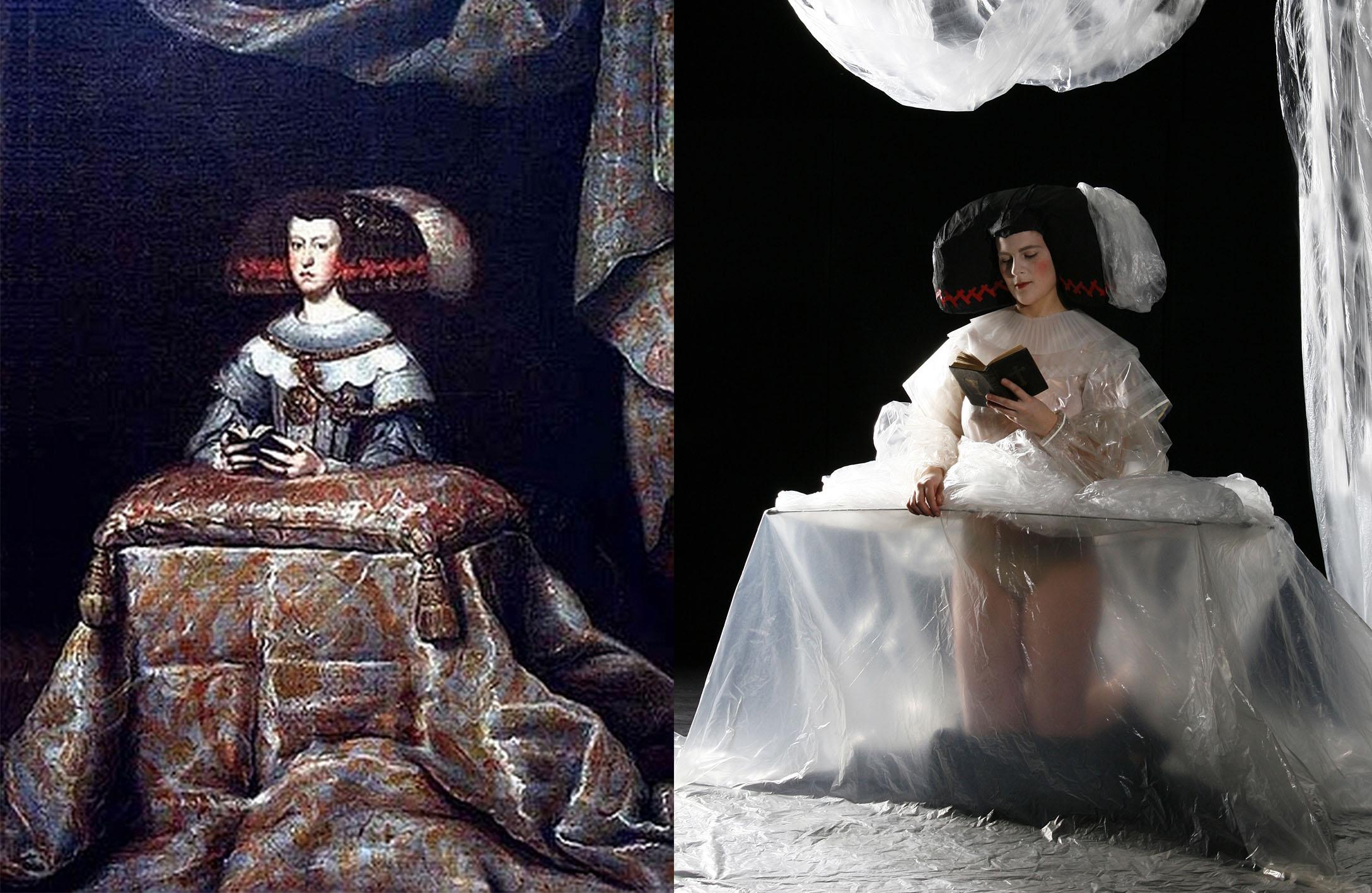 Diego Velazquez – Die betende Maria Anna von Oestereich1 a