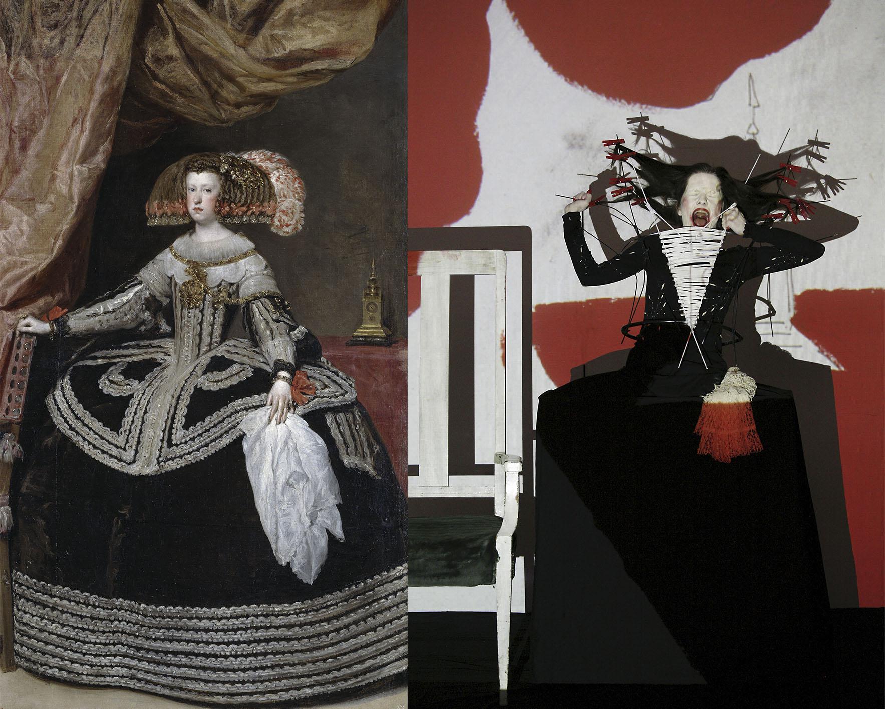 Diego Velazquez   Maria Anna von Oesterreich 1 a