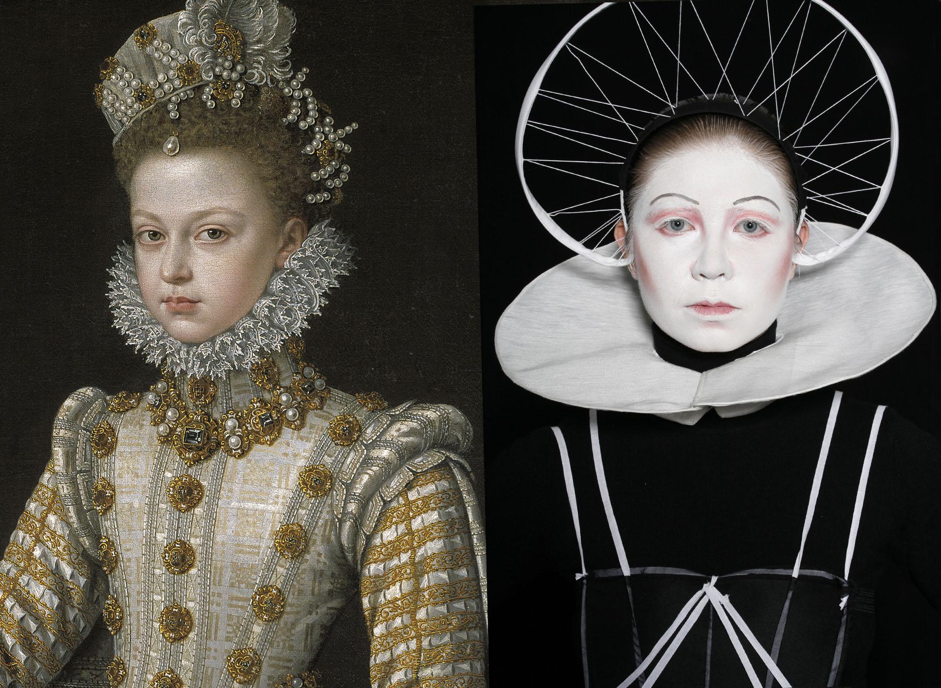 Sanchez Coello – Infanta Isabel Clara Eugenia a