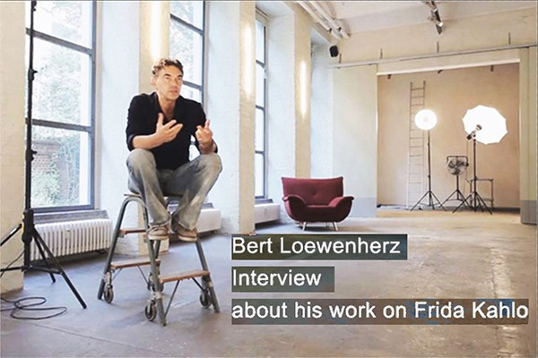 Bert Loewenherz – Interview about his work on Frida Kahlo